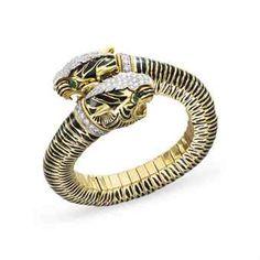 David Webb bangle bracelet