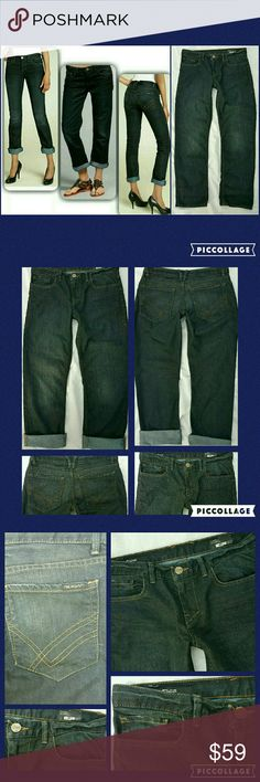 William Rast SAM Boy (cut) & Tapered Jeans Jeans Gr8 preloved condition only worn & laundered a few times William Rast SAM BOY & Tapered Jeans  Style R5182YY.64 *wash is aso model in the MIDDLE of the collage pic (1st pic) ..other 2 pics might be a diff wash.  **pics I took are of jeans u will receive ** SZ 28 **slim boyfriend fit,  however still a bit slouchy..as w/all befriend jeans pls use ur discretion to determine fit u like best (ie..size up/down/usual sZ) Details pilfered off internet…