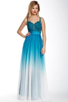 La Femme Ombre Empire Gown