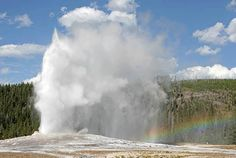 Old Faithful is definitely a must-see when you're going Yellowstone camping. Via strangesounds.org