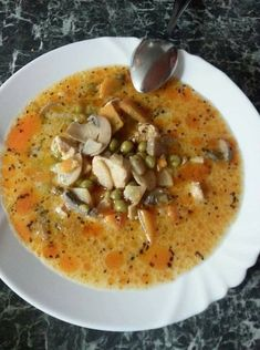 Soup Recipes, Diet Recipes, Vegan Recipes, Cooking Recipes, Good Food, Yummy Food, Hungarian Recipes, Ketogenic Recipes, One Pot Meals