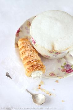 French tubes with mascarpone cream