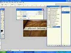 ▶ Photoshop tutorial-How to create an action in photoshop - YouTube