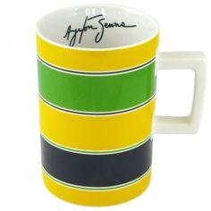 Ayrton Senna Mug Helmet
