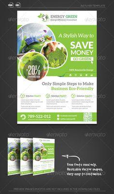 Renewable Energy Solution Flyer