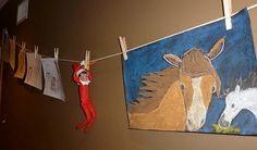 Zip Lining Elf
