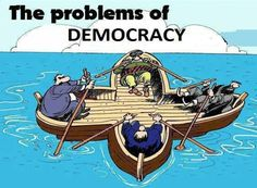 Account Suspended : The problems of Democracy Political Art, Political Cartoons, Satire, Pictures With Deep Meaning, Realistic Cartoons, Satirical Illustrations, Meaningful Pictures, Deep Art, Social Art