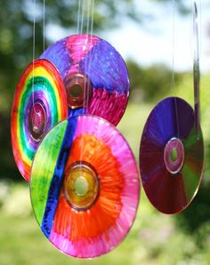 Instead of throwing away your old CDs, try these projects to recycle them for a better cause.