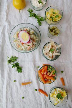 Salad-e Olivieh – russischer Kartoffelsalat nach persischer Art <3 Labsalliebe