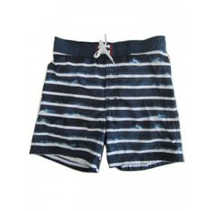 d228c5ccbb SophiasStyle · Swimsuits and swimwear · Jake Austin Big Boys Navy Blue White  Stripe Pattern Swimwear Shorts 8-12 Boys Swimwear