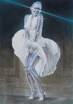 """Nanzuka Gallery in Tokyo is currently showing """"An actress is not a machine, but they treat you like a machine"""", a solo exhibition of new works by Hajime Sorayama. The prolific Japanese …"""