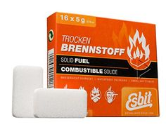 Esbit Smokeless Solid Fuel Tablets for Backpacking Camping Emergency Prep and Hobby 5 Gram 16 Pieces ** Continue to the product at the image link. (This is an affiliate link) Camping Stove, Camping Kitchen, Survival Gadgets, The Imitation, Backpacking, Prepping, Alcohol, Learning, Emergency Kits