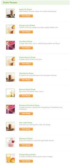 Herbalife Shake Recipes ~ Herbalife Mom