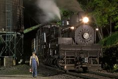 Conductor Brang at Cass, WV | by jterry618