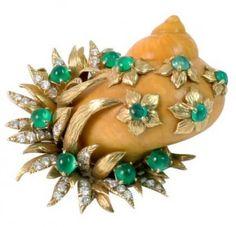 Bellas joyas en forma de caracol.http://www.elblogdekristinapogudina.com
