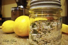 Homemade seasoning mixes Here are three flavor-loaded homemade seasoning mixes by Della Rose Living: 'Go To' Seasoning with lemon zest), Taco Seasoning, and Dry Rub! I'm looking forward to trying them all