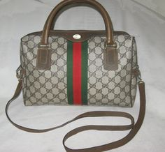 900 Fabulous w/Strap GUCCI BOSTON TOTE Brief bag by getloved