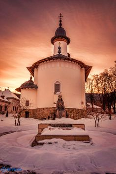 Varatec Monastery & Statue by Eden Seeker on 500px