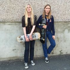 Introducing Skate Dollies, the Female Skateboarding Instagram Site by Model Sif Agustsdottir - Vogue