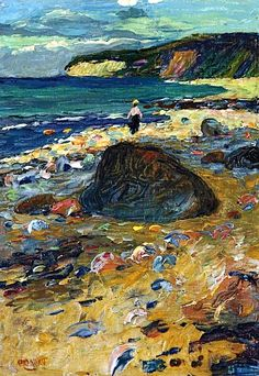 Wassily Kandinsky ~ Beach at Rügen
