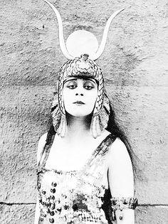 :::: PINTEREST.COM christiancross :::: Theda Bara as Cleopatra #egyptomania