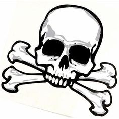 free simple skull drawing - Google Search
