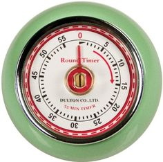 Fox Run Retro Kitchen Timer with Magnet, Mint Green, red, or pewter gray by Fox Run, http://www.amazon.com/dp/B0017T6R6E/ref=cm_sw_r_pi_dp_Kw8lrb1J2GHNE