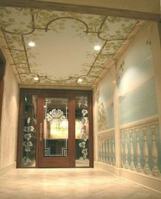 Ceiling Mural Design Ideas, Pictures, Remodel, and Decor