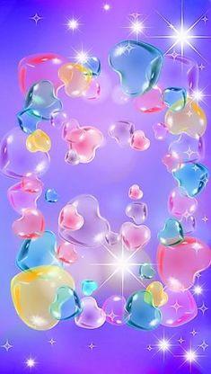 Hearts In Pastel Wallpaper Pastel Color Wallpaper, Flower Phone Wallpaper, Heart Wallpaper, Cute Wallpaper Backgrounds, Love Wallpaper, Pretty Wallpapers, Colorful Wallpaper, Aesthetic Iphone Wallpaper, Pastel Colors