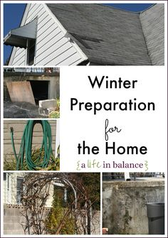 Don't Let the Winter Winds Blow Inside Your Home: Winter Preparation for the Home
