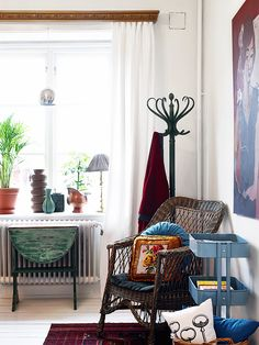 eclectic apartment Gothenburg // Stadshem