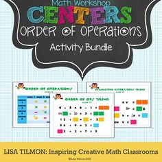 (CCSS: 5.OA.A.1, 6.EE.A.1, 6.EE.A.2c) This expressions activity bundle focuses on order of  operations. Students will simplify and evaluate expressions.