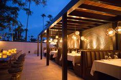 Sopa Restaurant L'Horizon Hotel and Spa   Palm Springs CA   Steve Hermann Architecture