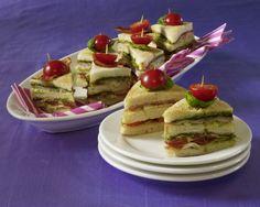 Club-Sandwiches Rezept   LECKER