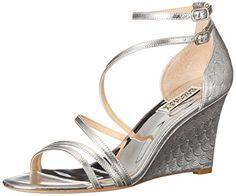 Badgley Mischka Women's Carnation II Wedge Sandal, Silver... https://smile.amazon.com/dp/B0174AC6DM/ref=cm_sw_r_pi_dp_BeAGxb4Y4JZ52