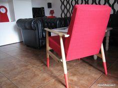 Fotel projektu Hanny Lis ,,LISEK,, typ 300-190