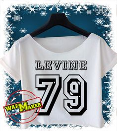 Adam Levine shirt Maroon 5 ShirtClothingT ShirtCrop