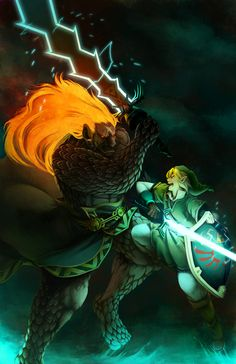 Skyward Sword: Final Showdown by Ruina