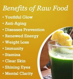 Raw foods are not only helpful to weight loss but also for skincare.