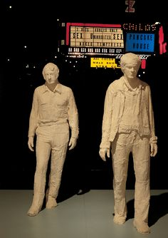 GEORGE SEGAL, TIMES SQUARE AT NIGHT, 1970