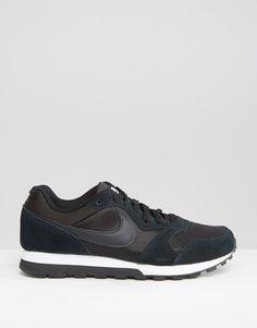 Nike | Nike Black & White MD Runner Trainers