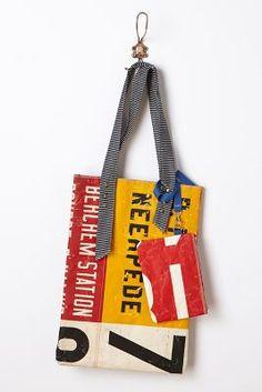 Unique gift..Tram bag