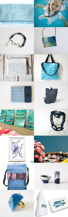 i love blue by walter on Etsy--Pinned with TreasuryPin.com #annehermine