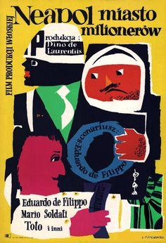 1950 MLODOZENIEC: Neapol miasto milionerow