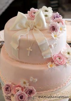 Marsispossu: Rippikakku Confirmation Cakes, Childrens Party, Food And Drink, Desserts, Celebration, Tailgate Desserts, Deserts, Postres, Dessert
