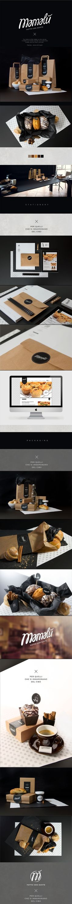 Mamalu banding/identity design by Anastasia Yakovleva & Alice Paviotti, on Behance