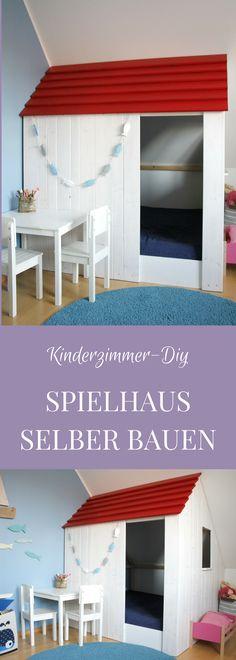 Ideen Kinderzimmer Einrichten: Ein Kinderzimmer Spielhaus Ist Der Traum  Aller Kinder. Mit Dieser Spielhaus