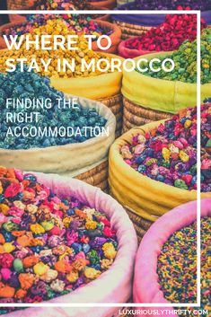 Where to stay in Morocco | Luxuriously Thrifty