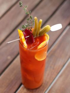 Farmer's Daughter Bloody Mary #RedbookParty
