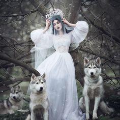 Kokoshnik for Amelia's Russian Snowmaiden Русские сказки оживают нафотографиях Маргариты Каревой.